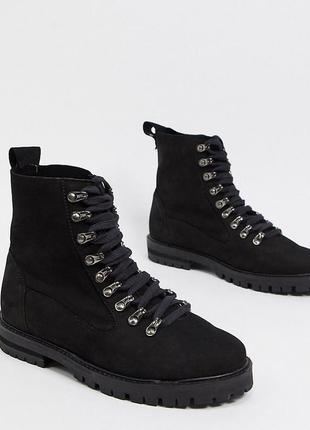 Натуральные кожаные ботинки asra