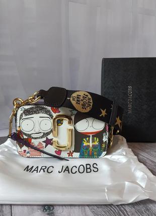 💄 сумка в стиле marc jacobs snapshot