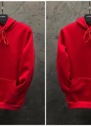 Парные худи dekka baza цвет красный и красный