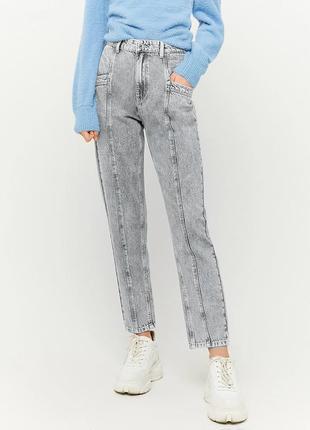 Стильные базовые мом джинсы