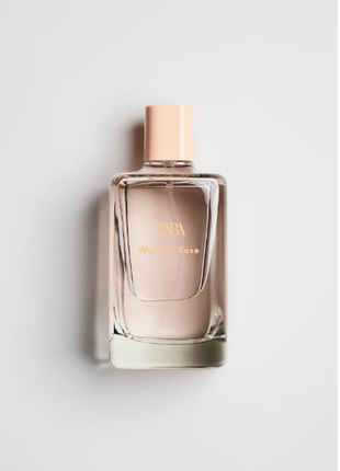 Zara wonder rose 200 мл. оригінал іспанія