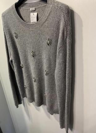 Женский серый свитер pimkie, размер s