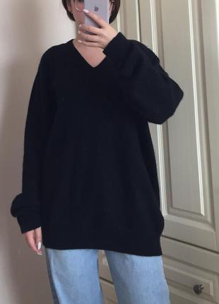 Кашеміровий оверсайз пуловер