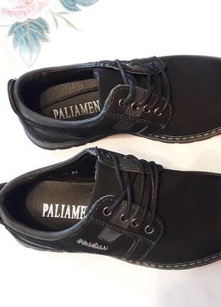 Ботинки туфли демисезонные обувь для школы черевики