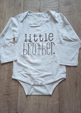 "Боди коттон ""little brother"""