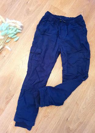 Утеплённые штаны с флисовой покладкой