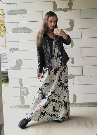 Платье в бельевом стиле батал длинное шикарное