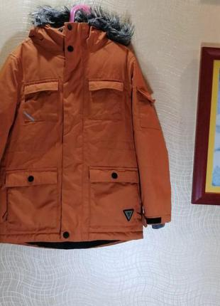 Теплая курточка парка next