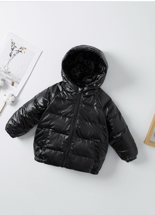 Куртка-натуральный пух. рост 130-135см.