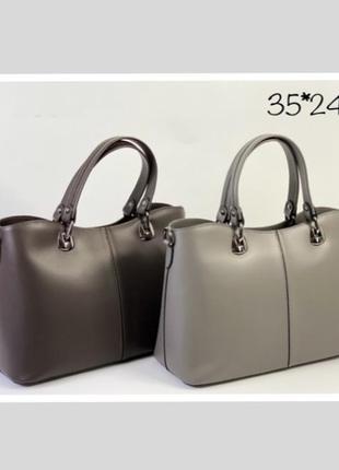 Сумка кожаная серая деловая сумка сумка шкіряна сіра італійська сумка графіт