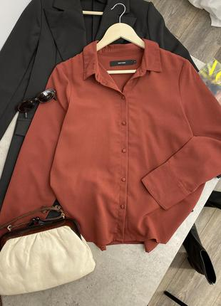 """""""цеглова"""" блуза vero moda"""