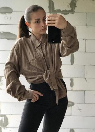 Шикарная базавая рубашка стильная