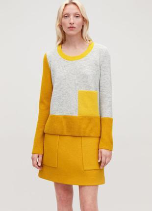 Шерстяной свитер cos (р.м)