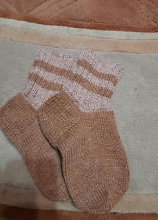 Носки теплые вязанные  36-38
