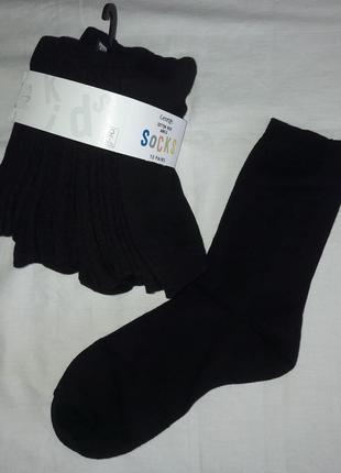 Носки чёрные george англия