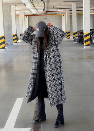 Стильное зимнее пальто, пальто утепленное