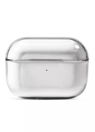 Прозрачный чехол на наушники airpods pro аирпорсы