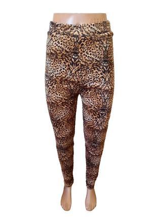 Лосины штаны женские велюровые на меху р.46-48.