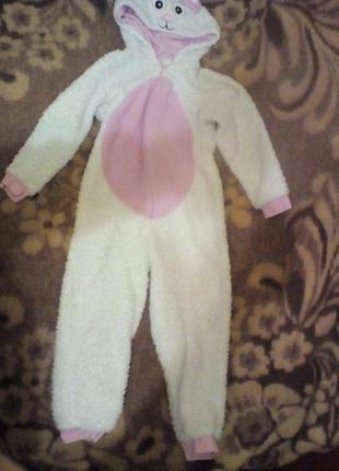 Новогодний карнавальный костюм слип кошечки george на 7-8лет