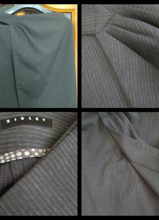 Новая фирменная юбка на запах бренда sisley