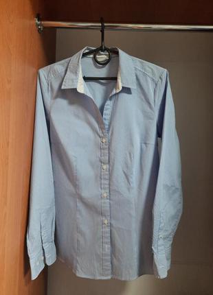 Новая женская рубашка h&m в полоску