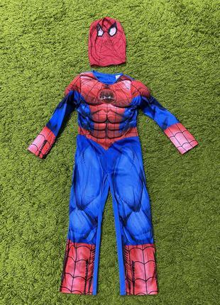 Костюм человек паук на7-8лет