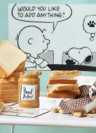 ⭐разделочная доска, подставка под горячее peanuts butlers  ⭐ новый год