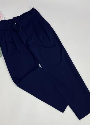 Шикарные брюки- кюлоты с поясом m&s collection