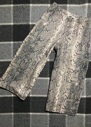 Женские шорты (капри, кюлоты) в змеиный принт george ( джордж м-лрр идеал оригинал разноцветные)