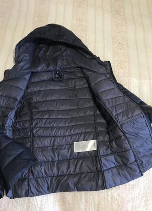 Фирменный ультралегкий пуховик куртка