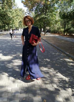 Платье халат в пол vovk