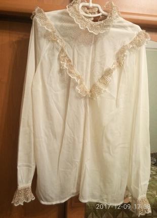 Блуза с рюшами h&m и много других брендовых вещей
