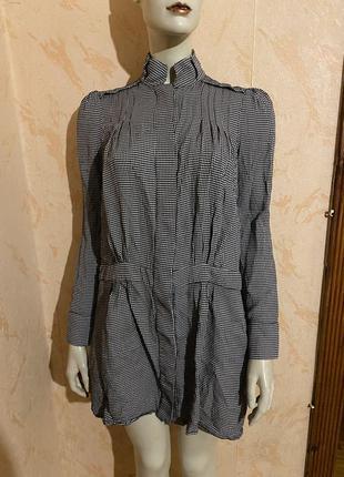 Платье рубашка вискоза