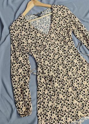Маленькое приталенное  платье с множеством пуговиц