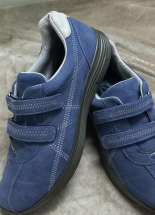 Туфли фирменные кожаные жен. 41р.hotter англии