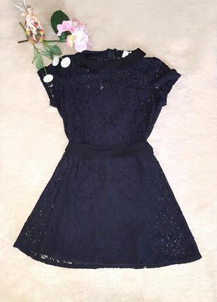 Платье гипюр forever 21