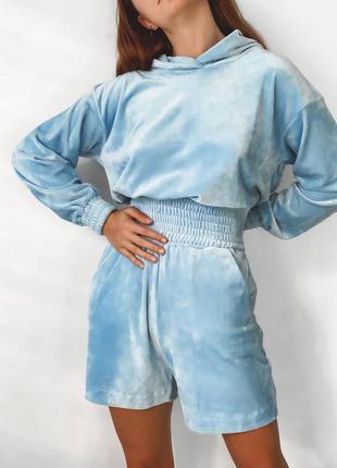 Распродажа ❗ велюровый костюм, 2 цвета