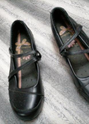Кожаные туфли skehcers большого размера на широкую ногу