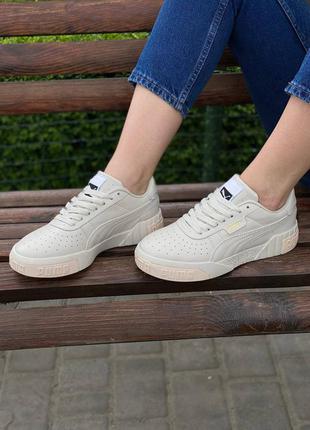 Кросівки puma cali beige