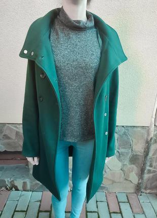 Пальто жіноче reserved осіннє на підкладці з капюшоном під кашемір