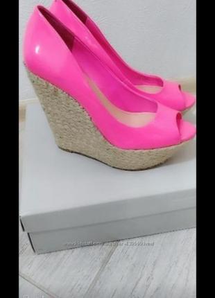Туфли неоновые