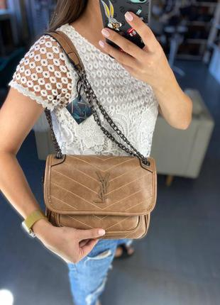 Стильная люксовая сумка из эко кожи