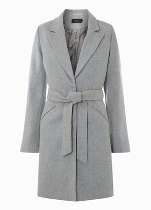 """Демисезонное пальто средней длинны с поясом """"vero moda"""""""