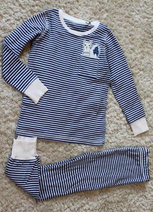 Пижама next для девочки 3-4 года (98-104см)