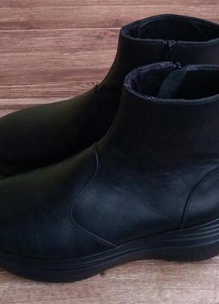 Ботинки ортопедические kybun. размер 42 1/3. кожа.