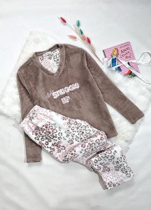 Плюшевая пижама love to lounge, размер s, состояние идеальное