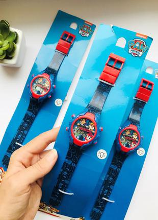 Светящиеся детские часы paw patrol - крутые и качественные 🔥c&a германия