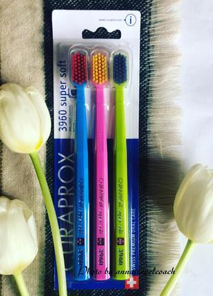 Зубные щётки curaprox 3960 супер софт