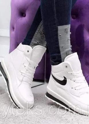 Зимние кроссовки, ботинки женские/подростковые