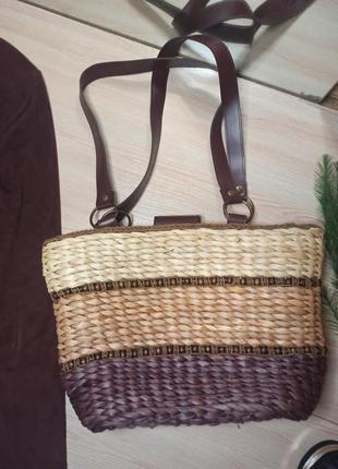 Плетёная сумка, корзина m&co
